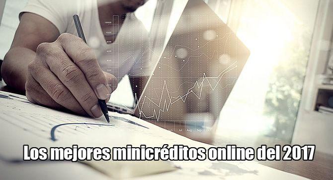 Los mejores minicréditos online al momento, como funcionan y que son
