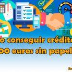En esos momentos en que necesitas dinero urgente y fácil siempre puedes solicitar un préstamo rápido de 1000 euros sin papeleo por Internet.