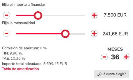 Calcula correctamente los gastos de tu préstamo personal