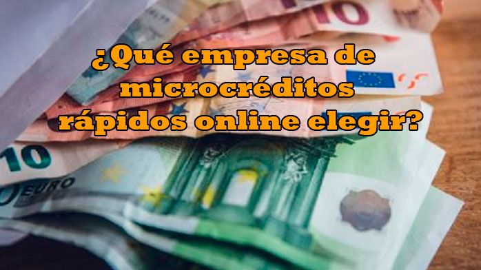 Cómo y dónde solicitar microcréditos rápidos online